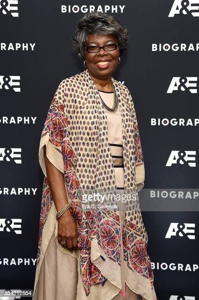 Voletta Wallace attends the screening of AE 'Biography Presents Biggie The Life Of Notorious BIG' at DGA Theater on August 17 2017 in New York City