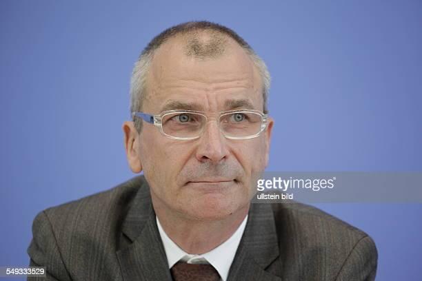 Volker Beck auf der Bundespressekonferenz in Berlin
