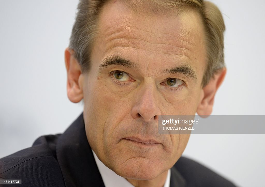 volkmar denner ceo of german technology company robert bosch gmbh pictures getty images. Black Bedroom Furniture Sets. Home Design Ideas