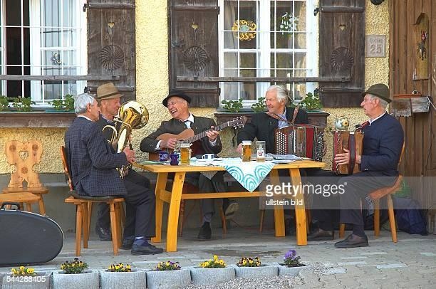 Volksmusik Stammtisch der Musiker Country music musicians