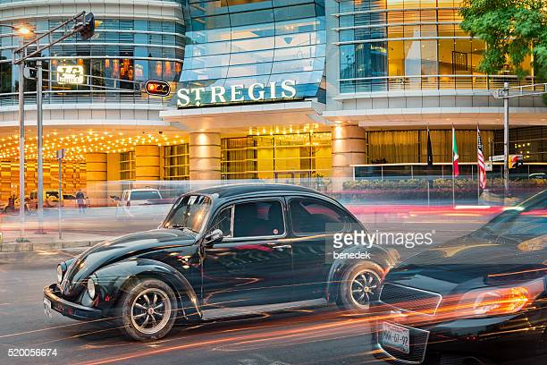 Volkswagen Beetle and St Regis Hotel in Mexico City