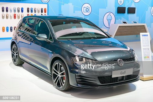 volkswagen golf gti stock photos and pictures getty images. Black Bedroom Furniture Sets. Home Design Ideas