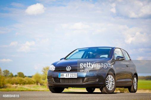 Volkswagen Golf Mk6 ou VW Typ 5 K Sombra azul metálico