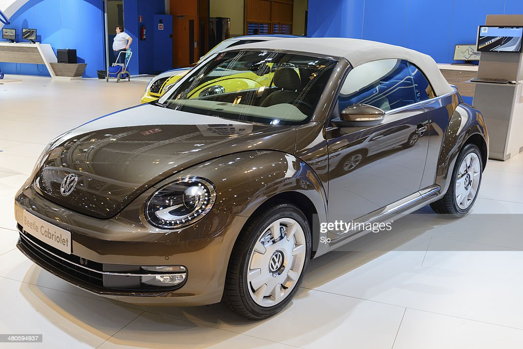 Volkswagen New Beetle Cabriolet : Stock Photo