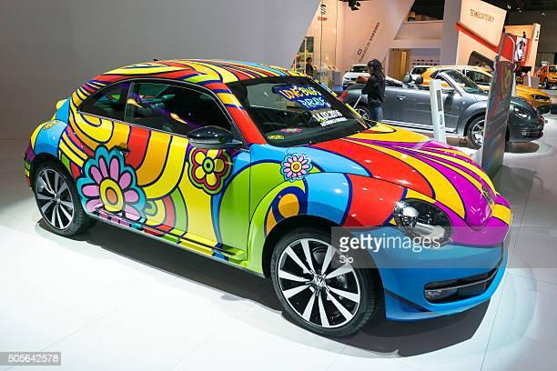 Volkswagen New Beetle Love Bug Parade art car
