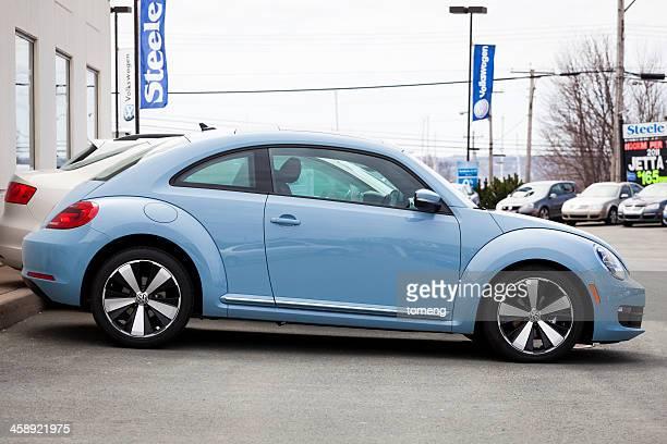 Volkswagen New Beetle on Lot