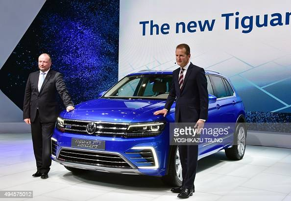 volkswagen passenger cars ceo herbert diess r and volkswagen japan president sven stein. Black Bedroom Furniture Sets. Home Design Ideas