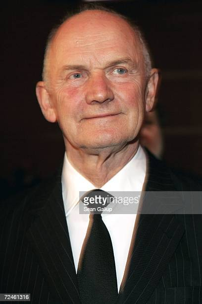 Volkswagen supervisory board chief Ferdinand Piech attends the Goldene Lenkrad awards at Axel Springer Haus November 8 2006 in Berlin Germany