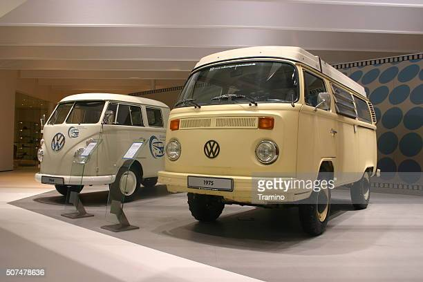 Volkswagen T1 nad T2 on the motor show