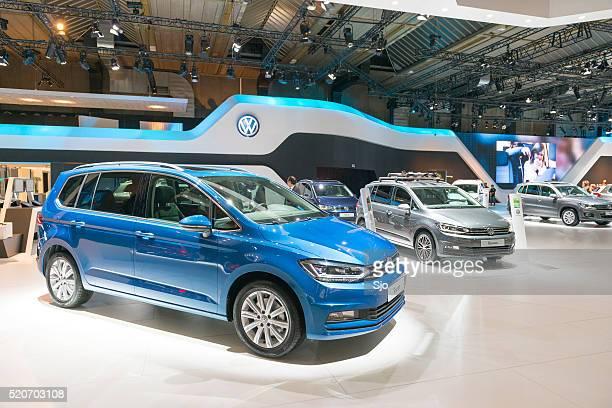 Volkswagen Touran compact MPV car