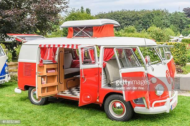 Volkswagen Transporter T1 Camper Van in a park