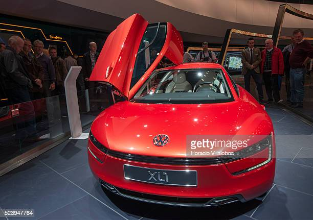 volkswagen xl1 stock photos and pictures getty images. Black Bedroom Furniture Sets. Home Design Ideas