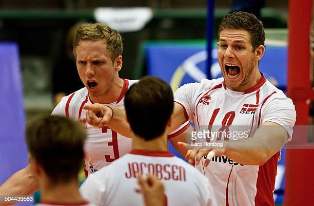 Volleyball European League Denmark vs Slovakia Rune Rye Huss Danmark / Denmark © Lars Rønbøg FrontzoneSportdk