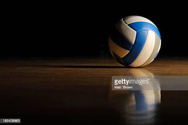Volleyball auf Holz Etage