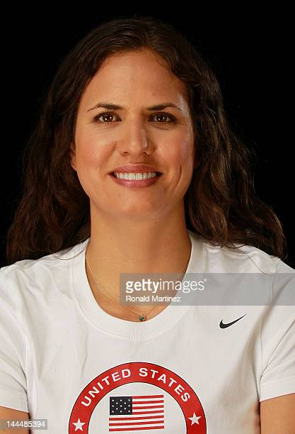 Volleyball player Logan Tom poses for a portrait during the 2012 Team USA Media Summit on May 14 2012 in Dallas Texas