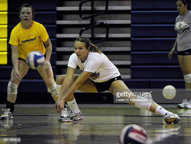 Volleyball player Morgan Broekhuis is a 6'5' senior at Colorado Springs Christian School where she is coached by her father Mike Broekhuis She is the...
