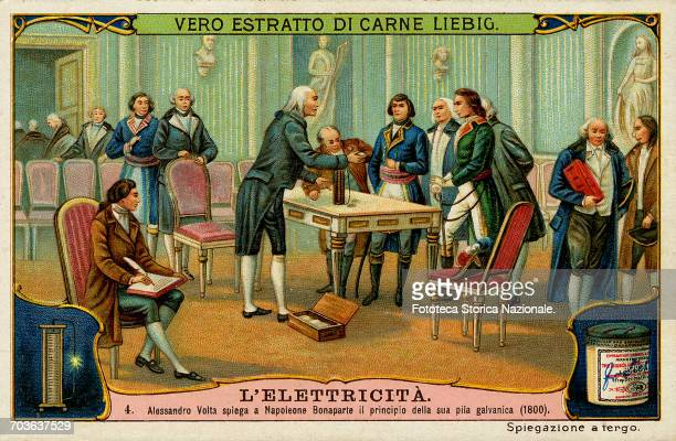 Volta in a communication addressed to the president of the Royal Society Sir Joseph Banks had announced to the scientific community the invention of...
