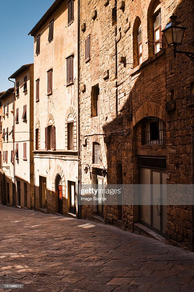 Volterra, Historic Walled Hill Town, Tuscany, Italy : Stock Photo