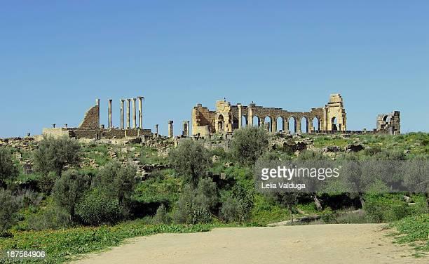 Volubilis was a Roman city - Marroco