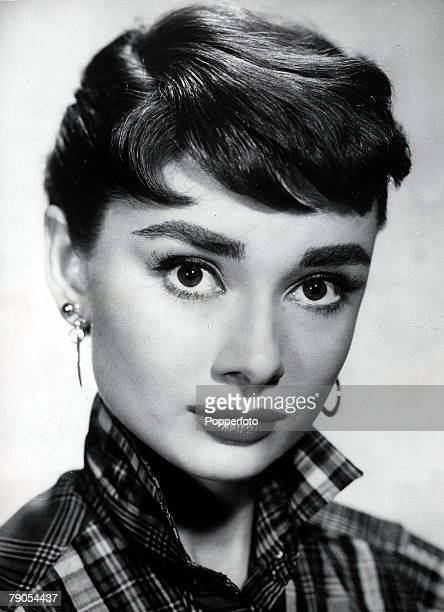 Volume 2 Page 100 Picture 8 Portrait of Belgian born American actress Audrey Hepburn circa 1950s