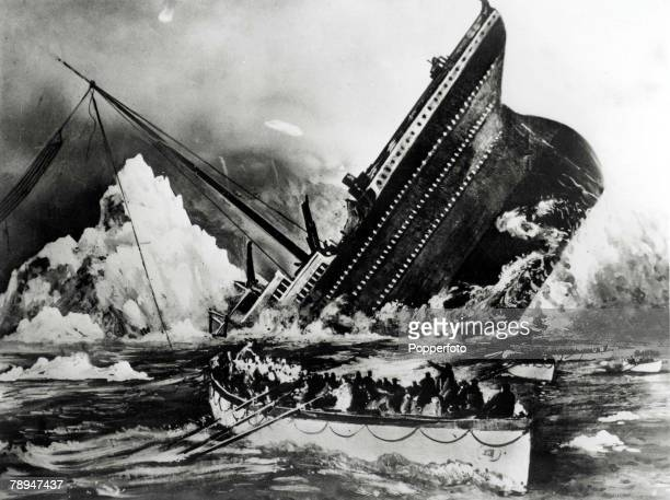 Volume 2 Page 69 Picture 7 Illustration showing the sinking of the Titanic