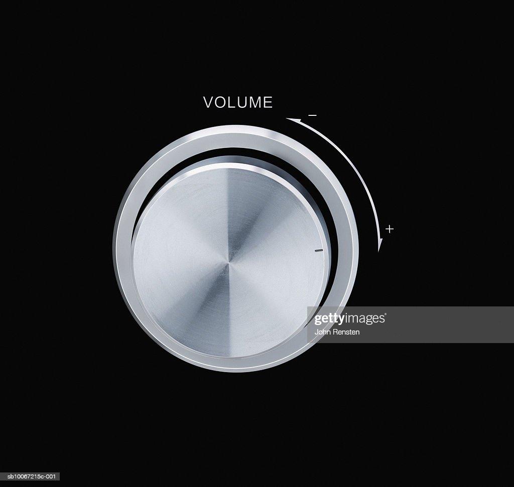 Volume control, close-up