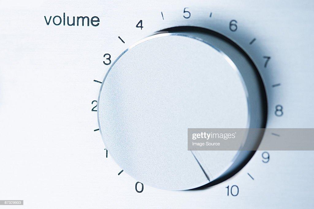 Volume knob : Stock Photo