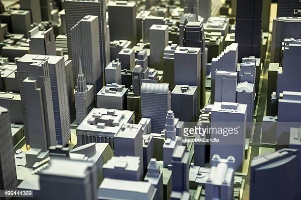 Volumetric model of the city of Chicago