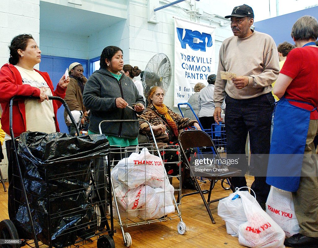 247 Food Pantry Opens In New York City Pictures Getty Images