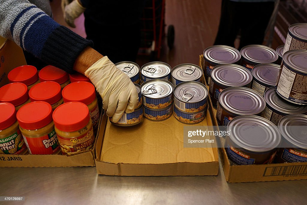 New York Food Pantry Provides Food To Those In Need Photos And