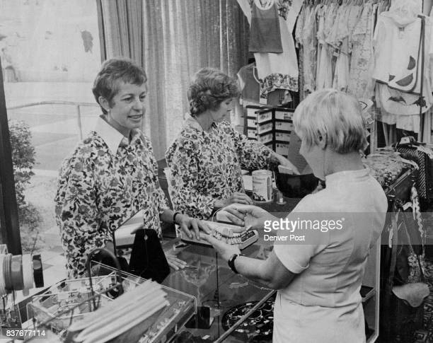 Volunteers Man Gift Shop At Colorado General Hospital Peggy McGee left and Marie Siebert operate 'Beyond the Bridge' shop Credit Denver Post