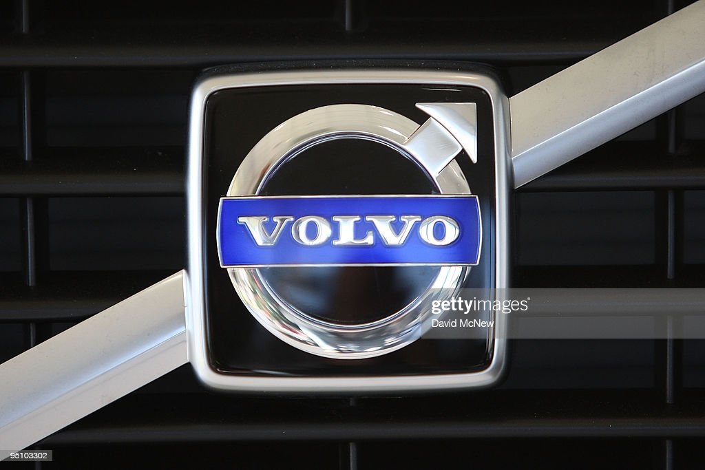 Volvo logo is seen at Rusnak Volvo car dealership on December 23 2009 in Pasadena California Ford Motor Company has announced that it will sell the...