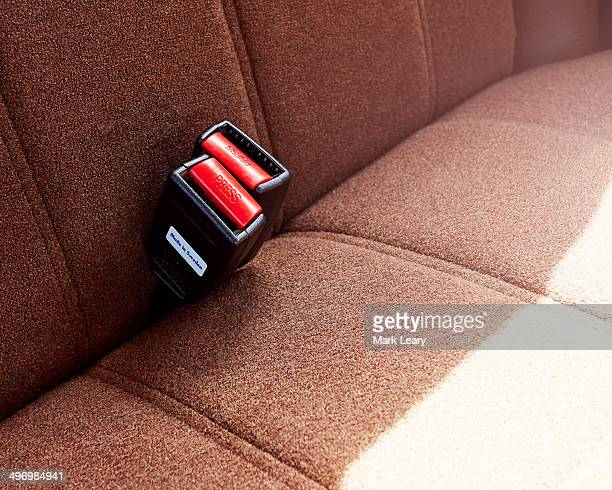 Volvo rear seat buckle