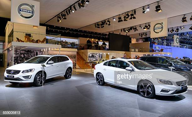 Volvo V60 and XC60 at the Volvo stand