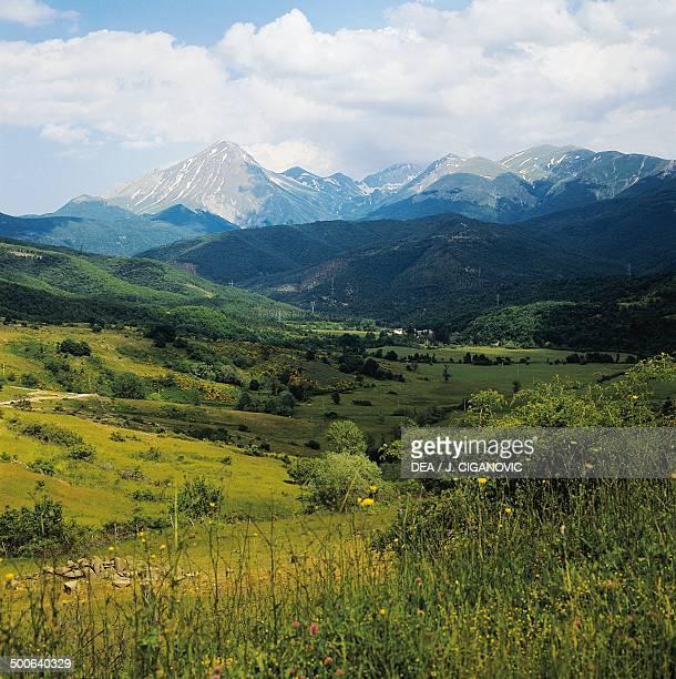Vomano valley Abruzzo Italy