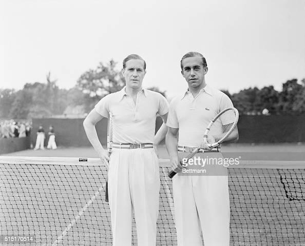 Von Cramm and Henkel Win US Debut Chestnut Hill Massachusetts Baron Gottfried von Cramm and his doubles partner Heinrich Henkel of Germany before...