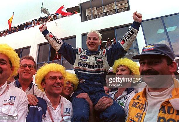 GP von EUROPA 1997 Jerez Weltmeister Jacques VILLENEUVE/WILLIAMS RENAULT
