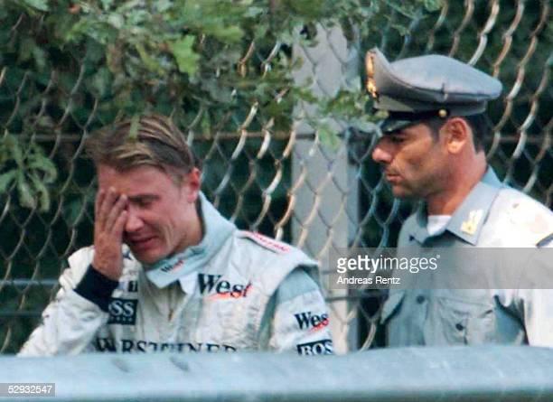 GP von ITALIEN 1999 Monza Mika HAEKKINEN/McLAREN MERCEDES schied aus