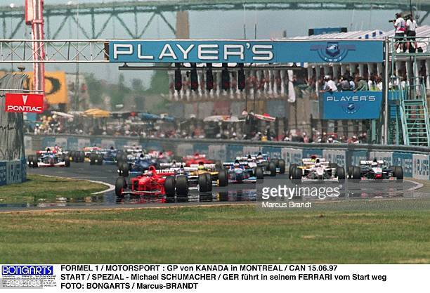 GP von KANADA 1997 MONTREAL/CAN Michael SCHUMACHER/GER FERRARI