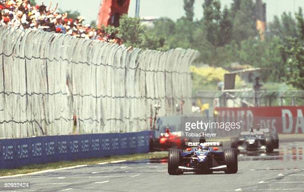 GP von KANADA 1999 Montreal Unfall von Michael SCHUMACHER/FERRARI
