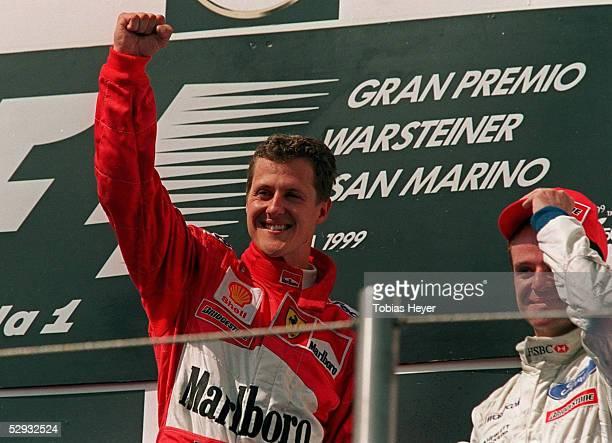 GP von SAN MARINO 1999 Imola Sieger Michael SCHUMACHER/FERRARI