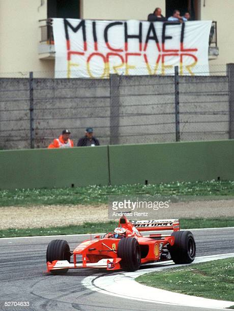 GP von SAN MARINO 2000 Imola Sieger Michael SCHUMACHER/GER FERRARI