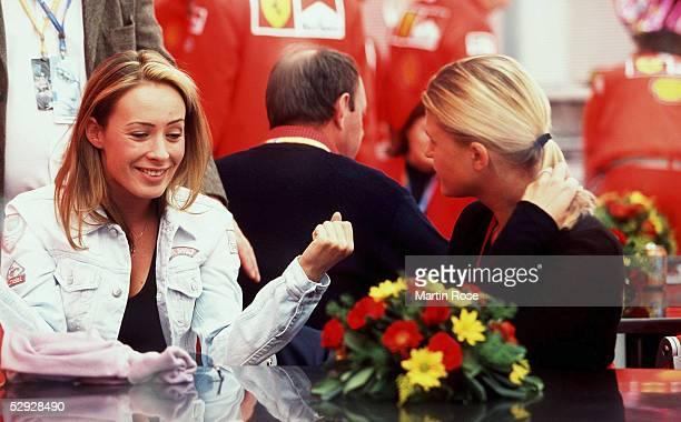 GP von SAN MARINO 2001 Imola CORA Corinna SCHUMACHER