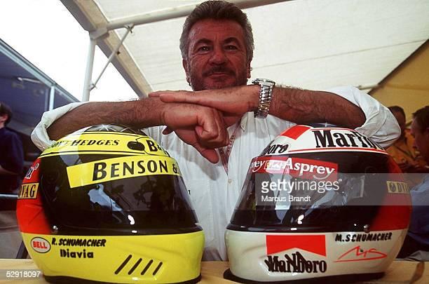 GP von SPANIEN 1997 Barcelona Willi WEBER Manager von Ralf und Michael SCHUMACHER
