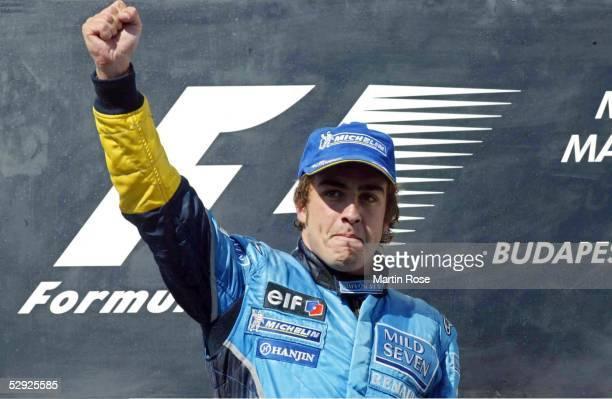 GP von Ungarn 2003 Budapest Sieger Fernando ALONSO/ESP Renault