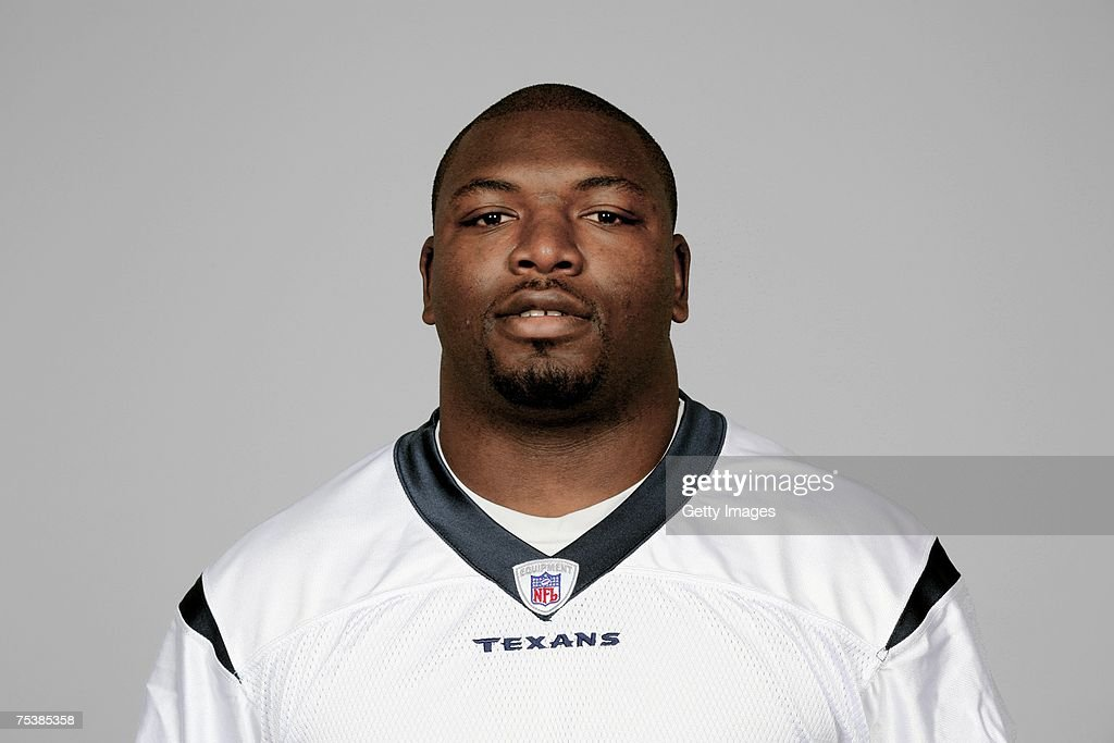 Vonta Leach of the Houston Texans poses for his 2007 NFL headshot at photo day in Houston Texas