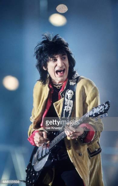 Voodoo Lounge Tour Ron Wood The Rolling Stones Festivalpark Werchter Belgium