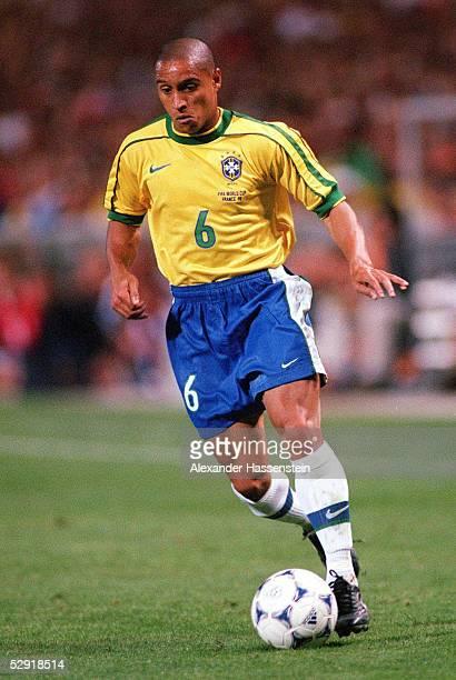 Vorrunde Marseille Brasilien Norwegen 12 Roberto CARLOS/BRA