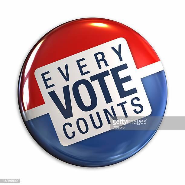 Abstimmung-Abzeichen