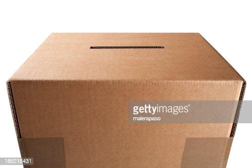 Vote. Ballot box.